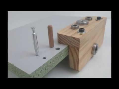 Vdeo como usar plantilla mini fix para muebles de madera