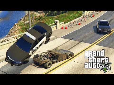 Gta V: Epic police chase (Adder + jet + tank) and escaping