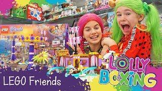 Lollyboxing 43 - LEGO Friends - Zábavní Park na molu