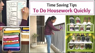 7 Best Time Saving Home Organizing Tips   How To Save Time In Home And Kitchen
