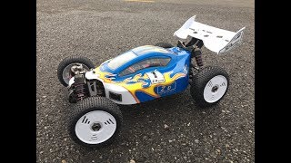 ZD Racing 08425 1:8 Off-road RC Buggy Unboxing, Bash and Review