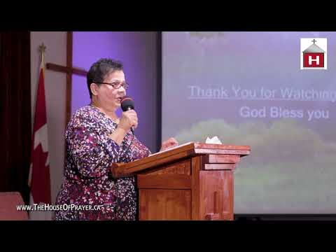 """Always be thankful to God and each other for all things"" with Pastor Jean Tracey"