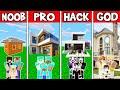 Minecraft FAMILY FUTURISTIC HOUSE BUILD