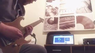 Arch Enemy Silent Wars Guitar Solo Cover