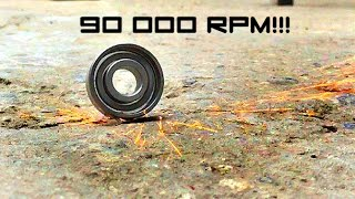 High Speed Bearing  90,000+ Rpm! (hm   Fidget Spinner)