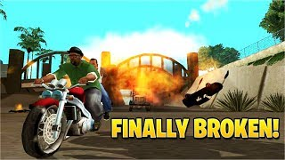 This NEW Glitch Just BROKE GTA: San Andreas!