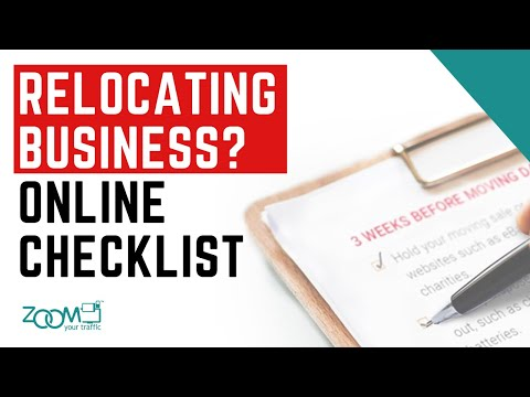 #HowToZoom: 8 Things You Must Update When Relocating Your Business Location