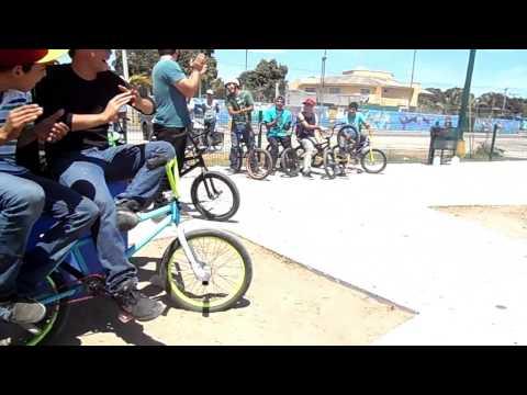 BMX STREET JAM PARTE 2. MILITAR BMX