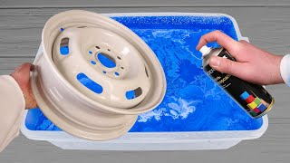 Customize Your Car Wheel With Hydro Dipping