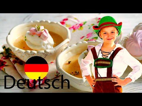 Снежки ( Schneeflocken sheypale), старинный немецкий десерт.  Вкусные рецепты из доступных продуктов видео
