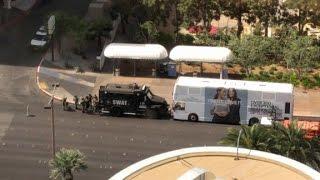 Suspected gunman barricaded in bus
