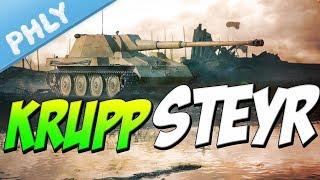 LONG 88MM at 5.7 BR - Krupp-Steyr Waffenträger (War Thunder 1.71 Tanks)
