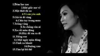 Những ca khúc hay nhất của Phương Thanh