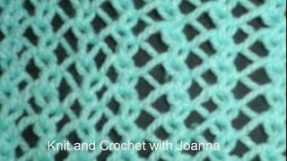Knit Pattern * ONE ROW LACE STITCH *
