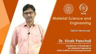Lecture 06: Optical microscope