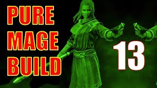 Skyrim Pure Mage Walkthrough NO WEAPONS NO ARMOR Part 13 - Sabrina's New Gear