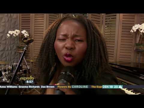 Winnie Khumalo performs