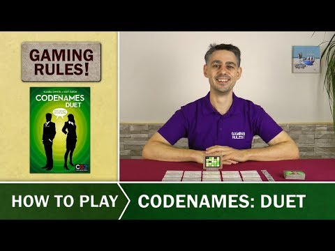 Codenames Duet - Official How-to-Play video from Gaming Rules!