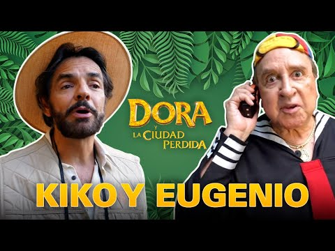 ¡Kiko y Eugenio Derbez en la búsqueda de la Ciudad Perdida!