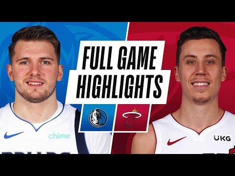 Miami Heat vs Dallas Mavericks</a> 2021-05-05