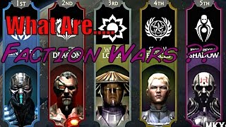 Mortal Kombat X Factions Wars ALL Factions Explained