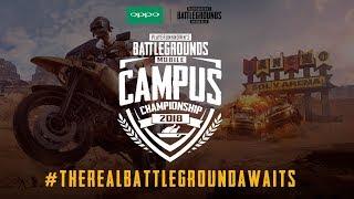 Campus Championship- Semi Finals | ft Kronten Gaming & Poor Gamer Clan