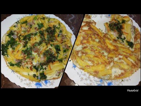 Chipsi mayai - Tanzanian food