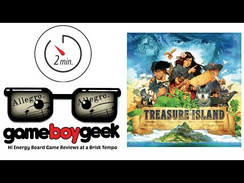 Treasure Island (Allegro 2-min) Review with the Game Boy Geek