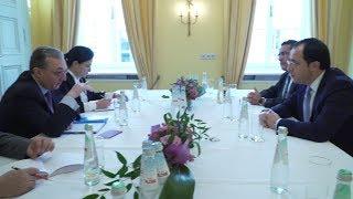 ԱԳ նախարար Զոհրաբ Մնացականյանի հանդիպումը Կիպրոսի ԱԳ նախարար Նիկոս Խրիստոդուլիդեսի հետ