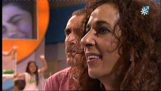 "Video thumbnail of ""Abraham Mateo (12 años) canta NO DUDARIA ante Rosario Flores - MENUDA NOCHE"""