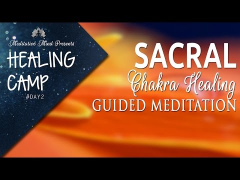 Sacral Chakra Healing Guided Meditation   Healing Camp #2