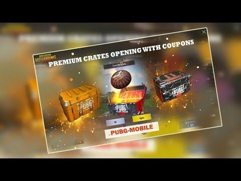FREE PREMIUM AND SUPERIOR Crates in PUBG Mobile! Coupons