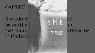 Radio Atlantis presents:  She, Selected Poems by Donovan Leitch, Book.