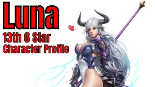 Download Epic Seven: Luna/My 13th 6 Star/Character Profile/Build