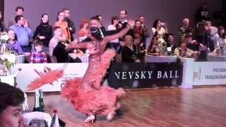 Zhigarev Vladislav - Epeykina Diana Nevsky Ball Junior-2 Standart Tango
