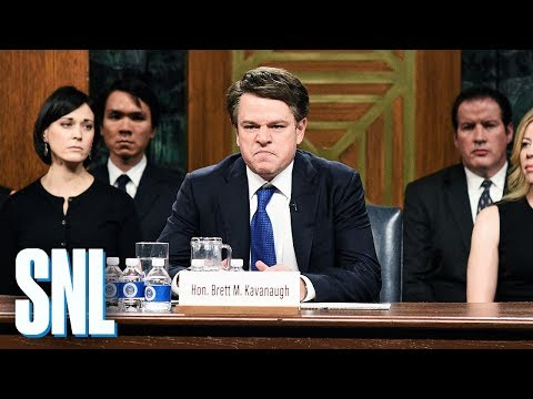 Kavanaugh Hearing Cold Open - SNL