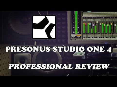 Presonus Studio One 4 - Professional Review
