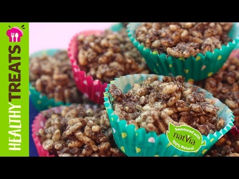Healthy Classic Chocolate Crackles - A Sugar Free, Gluten Free, Lunchbox favourite!