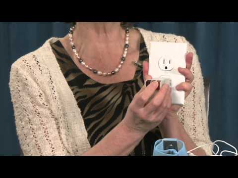 Demonstration On How To Use Earthing Products - Ann Louise Gittleman