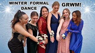 GET READY WITH ME! | WINTER FORMAL DANCE!