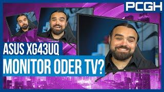 BESSER als ein OLED-TV? 4K-Monitor Asus XG43UQ im TEST