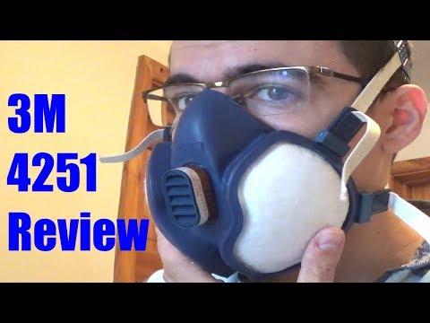 3M 4251 Disposable Respirator review