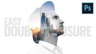 Double Exposure Effect Photoshop Tutorial (Easy)