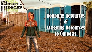 Doubling Resources and Assigning Outposts to Resources