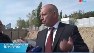 Глава Волгограда Виталий Лихачев проинспектировал ход реконструкции городской набережной