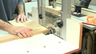 Part 2   MLCS Woodworking Horizontal Router Table