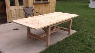 L'gosseux d'bois Ep 194 - Table de patio en cèdre