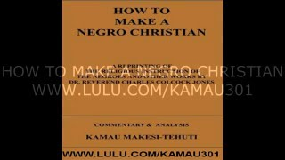 HOW TO MAKE A NEGRO christian book trailer