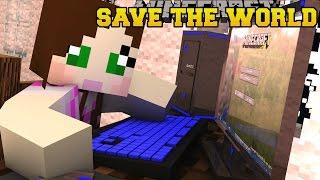 Minecraft: ESCAPE TO SAVE THE WORLD! - ANTI-APOCALYPSE AGENCY - Custom Map [3]