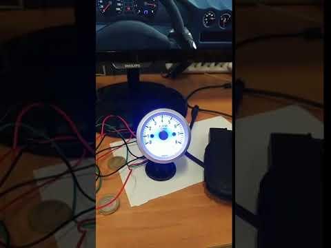 SimHub Arduino RPM Gauge Test - смотреть онлайн на Hah Life